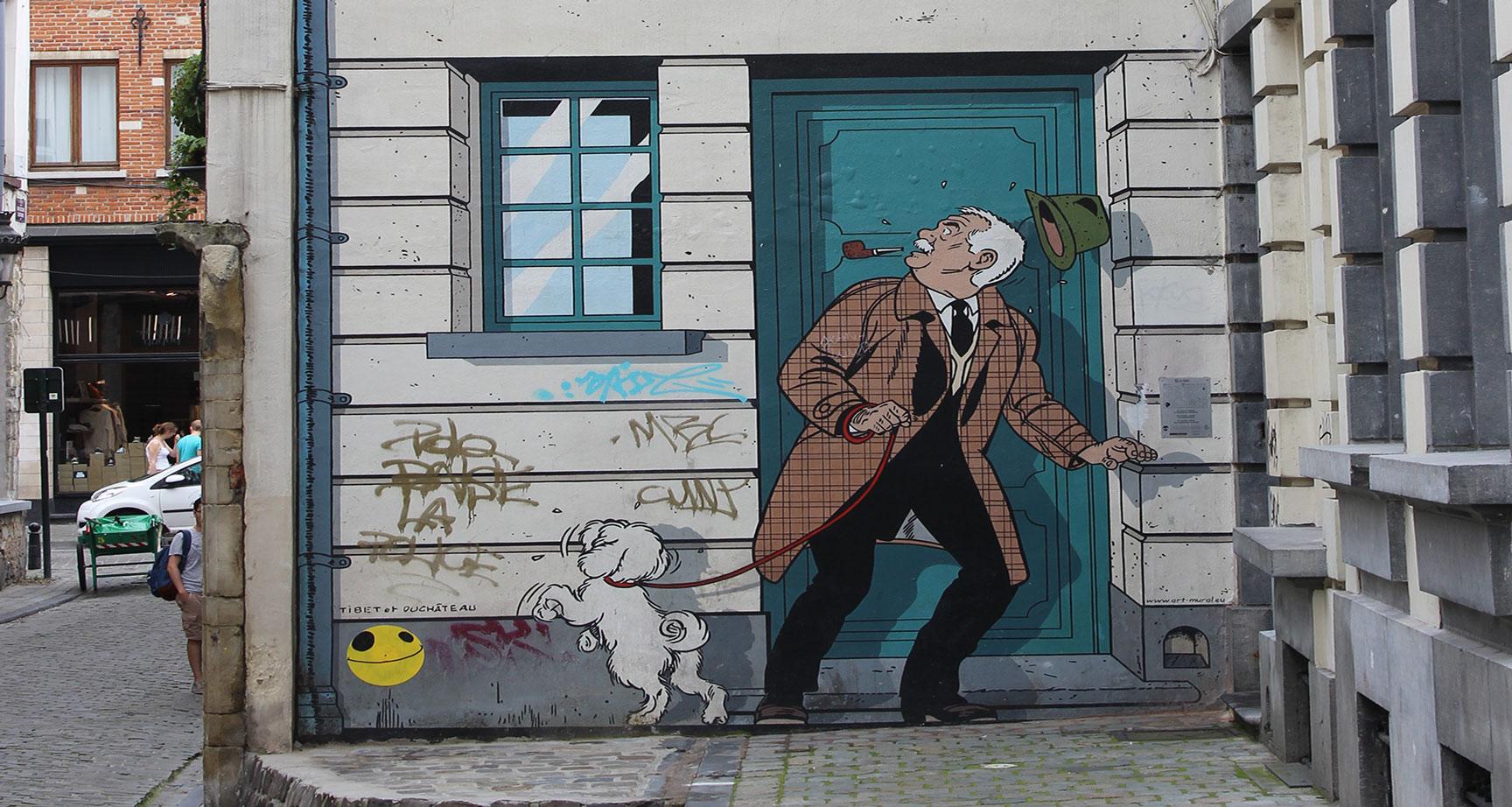 STREET ART -BELGIQUE -PAYS-BAS