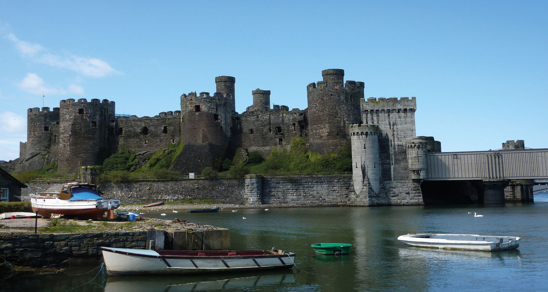 SNOWDONIA,CHESTER, ILE D'ANGLESEY