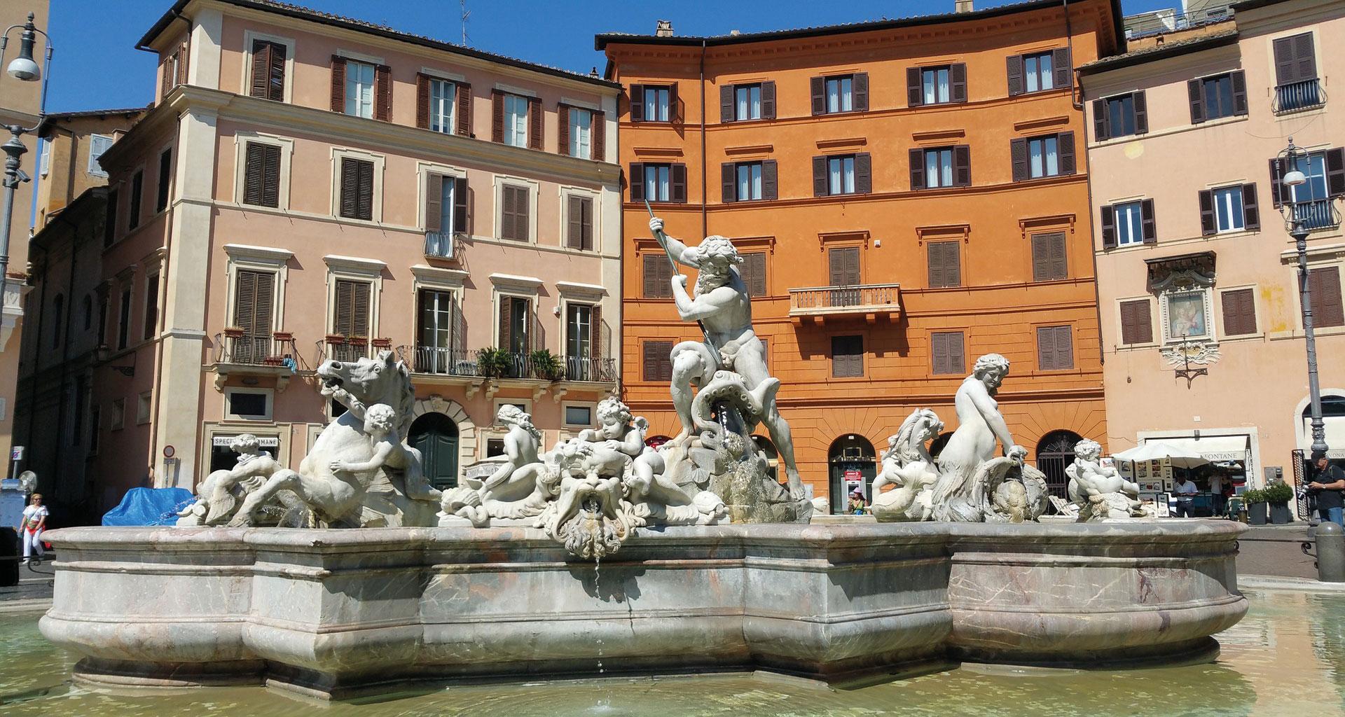 Venise, Rome