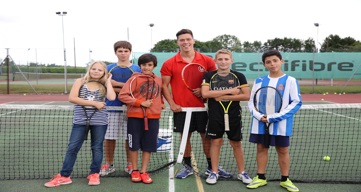 ENGLISH & TENNIS IN HAMPSHIRE - INTERNATIONAL